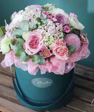 Цветы в коробке Охара