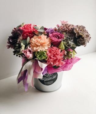 Цветы в ведре Меджик