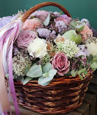 Цветочная корзина Ларнака