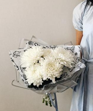 Хризантемы к 1 сентября