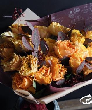 Пионовидные розы Каралуна
