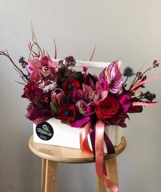 Цветы в ящике Нори