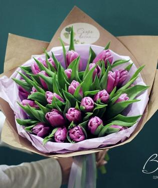 21 сиреневый тюльпан