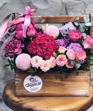 Цветы в ящике Турин