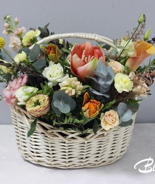 Корзина с цветами Доминикана