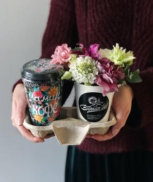 Цветы и Кофе МАМЕ
