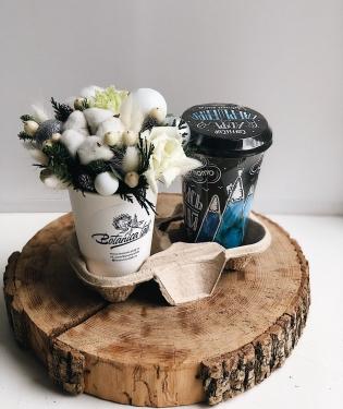 Цветы и Кофе Винтер