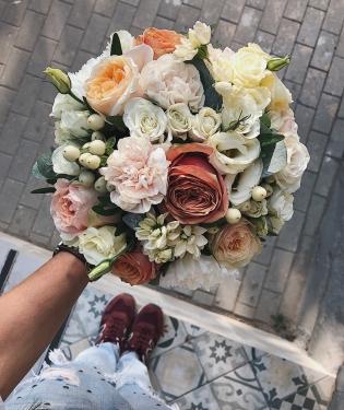 Свадебный букет #36