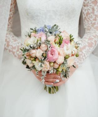 Свадебный букет #38