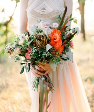 Свадебный букет #19