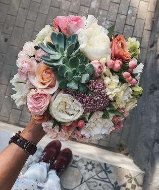 Свадебный букет #24